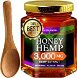 Honey Hemp. Pure Honey with 3000mg Hemp Extract. 9.6 oz Glass Jar. Promotes Pain Relief, Anxiety Reduce, Helps Regulate Metabolism & Weight Management. Mint Flavor. THC Free