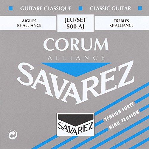 Savarez Alliance Corum 500AJ Klassische Gitarre Saitensatz für Savarez Alliance Corum 500AJ