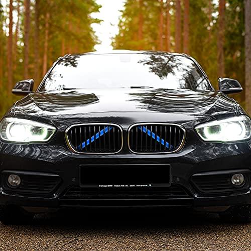 Merisny Kühlergrill Einsatz Zierleiste passt für BMW X3 F25 X3 G01 X4 G02 X5 G05 Auto Zubehör