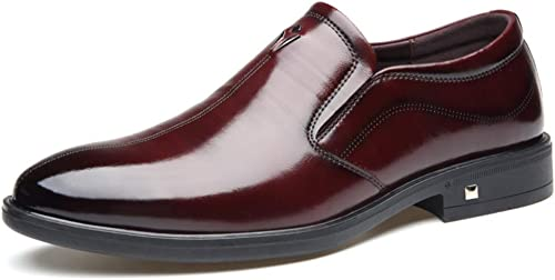zapatos House Zapaños De Cuero De Negocios Casual Zapaños De Vestir