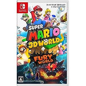 【マリオ35周年キャンペーン対象】スーパーマリオ 3Dワールド + フューリーワールド -Switch