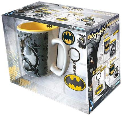ABYstyle - DC COMICS - Caja de regalo - taza + llavero + Batman pins