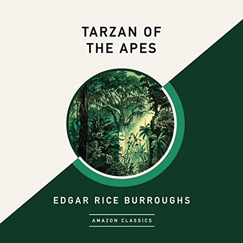 Couverture de Tarzan of the Apes (AmazonClassics Edition)