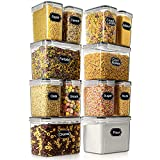 Airtight Food Storage Container - Wildone Cereal & Dry Food Storage Containers Set of 12,...
