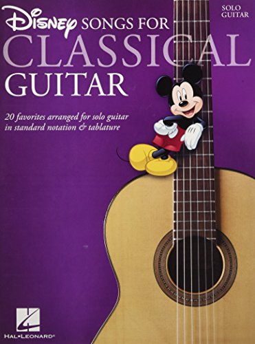 Disney Songs for Classical Guitar (Standard Notation & Tab)