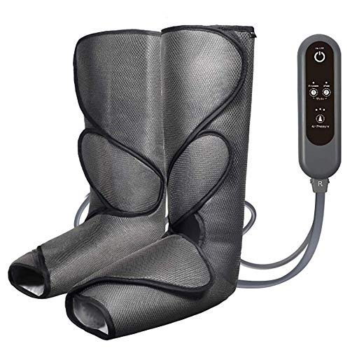 Best Bargain JINPENGRAN Leg Massager for Low-Intensity Calf Circulation with 3 Strength Levels for H...