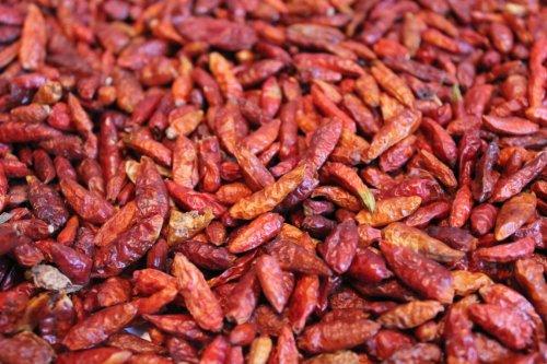 1000Kräuter Chili Chillischoten rot sehr scharf ganz (1000g)