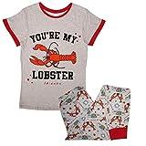 FRIENDS Conjunto de pijama para mujer y niña, diseño oficial con texto en inglés 'You're My Lobster'