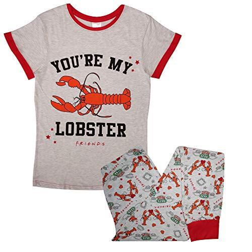FRIENDS Conjunto de pijama para mujer y niña, diseño oficial de You're My Lobster
