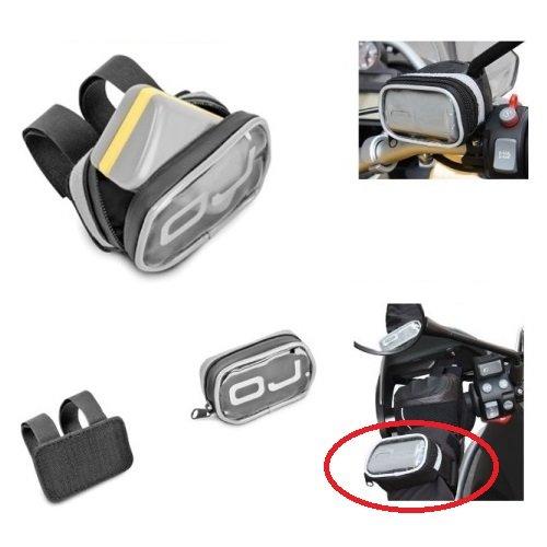 Porta-telepeaje económico OJ m068de Manillar y Pulso Universal Enganche de Velcro Dimensiones:, Color Negro