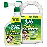 Simple Green Outdoor Odor Eliminator for Pets, Dogs, Ideal for Artificial Grass & Patio (32 oz Hose End Sprayer & 1...