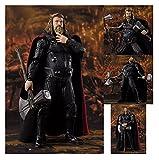 JSJJAUA Figura de acción Súper héroe Thor Figura de acción de PVC articulada Juguetes Modelo de colección muñeca (Color : with Retail Box)