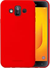 Samsung Galaxy J7 Duo TPU Soft Thin Mofi Hard Back case For Galaxy J7 Duo cover Red