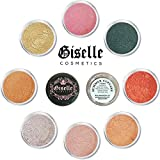 EyeShadow Palette - Mineral Makeup Eyeshadow Powder and Contouring Palette   Pure, Non-Diluted Shimmer Mineral Make Up in 8 Cupcake Hues and Shades