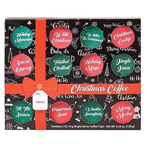 KCup Christmas Coffee Gift Box Sampler Set