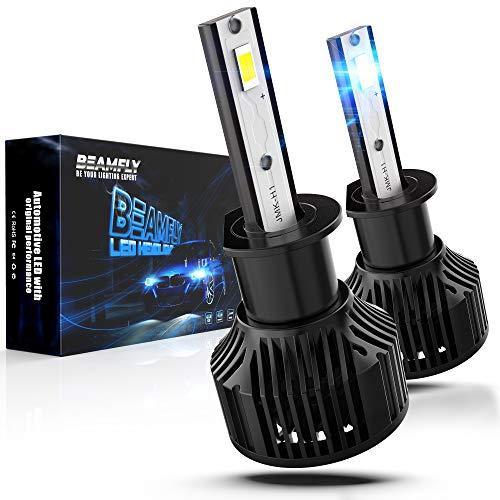 BEAMFLY H1 LED 12000LM con Unità di Controllo Integrata, 80W Lampadine Fari Auto, 6000K Bianco