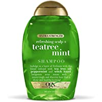 2-Pack OGX Extra Strength Refreshing Scalp + Tea Tree Mint Shampoo