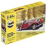 Heller - Maqueta de coche Starter Kit 500 K Special Roadster