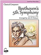 beethoven 5th symphony piano solo
