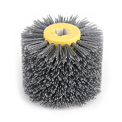 FTVOGUE – Brosse en métal, fil abrasif, pour polissage de meubles en bois, grain 120
