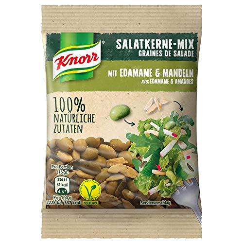 Knorr Salatkerne-Mix mit Edamame-Sojabohnen und Mandeln 30g Beutel, 6er Pack (6 x 30)