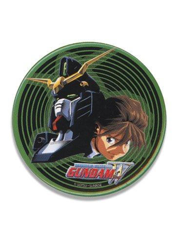 Rockin Robot Gundam Wing Duo and Deathscythe 3 inch Button