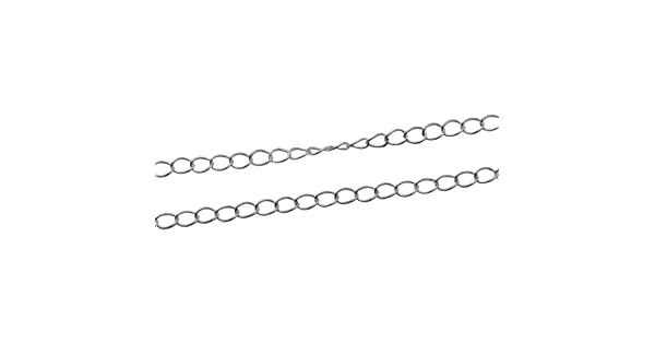 1.5x1.5mm, Silver Plated 925 Sterling Silver Bulk Chain Cable Chain Unfinished Chains for Jewelry Making 3 Feet Per Lot