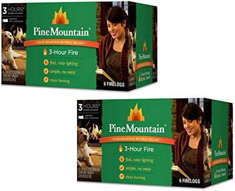 Pine Mountain 6 Pack 3 Hour Firelogs Easy Lighting 2 count product image