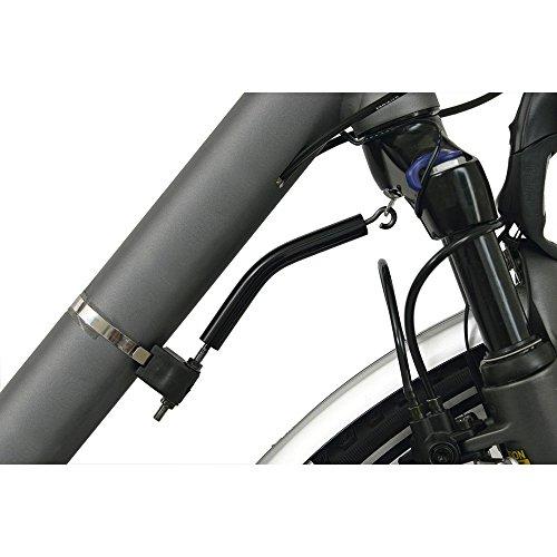 Hebie Lenkungsdämpfer Elastomer 28mm - 62mm f. Federg. Uni E schwarz 0696 Uni E