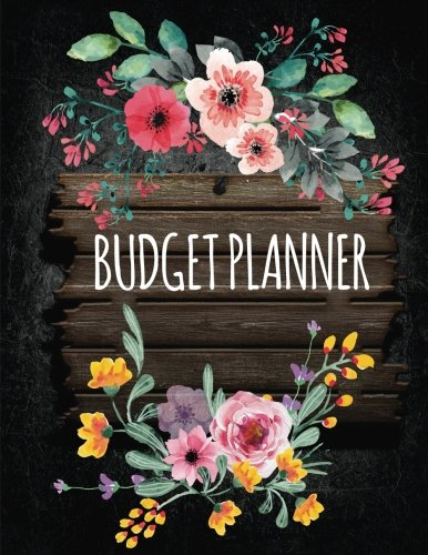 Budget Planner: Budgeting Book, Expense Tracker, Bill Tracker For 365 Days - Large Print 8.5