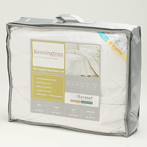 Pure Hungarian Goose Down duvet - King size, 13.5 tog by VICEROYBEDDING