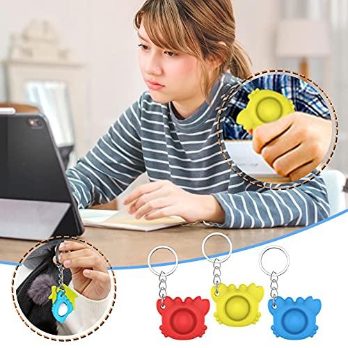 KALL Krabbe-Dekompressionsspielzeug,Schlüsselbundspielzeug,druckreduzierendes Spielzeug, Krabbe-Schlüsselbund,Entlüftungsspielzeug,Dekompressionsspielzeug für Erwachsene Kinder,Fingerkraft (rot)