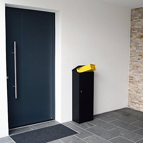 Rottner Stand Paketbriefkasten Parcel Keeper 1000 mit Zylinderschloss, Briefkasten für Pakete - 5