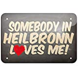 KE OU Somebody In Heilbronn Loves Me, Germany Metal Vintage