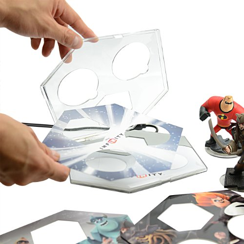PDP Disney Infinity BASE Protector Kit di protezione (PS3/Xbox 360/Nintendo Wii U/Wii/3DS)