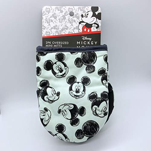 Best Brands Mickey Mouse 2 Pack Oversized Mini Kitchen Mitts