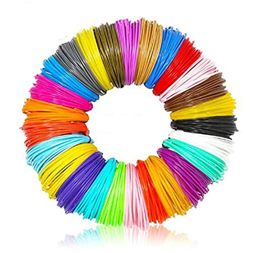 CCCYMM PLA 1.75mm 3D Printer Filament Pen Plastic Rubber Consumable Material For 3D Pen,Random Color