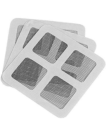 Acreny Malla antimosquitos para ventana con tiras autoadhesivas para el hogar