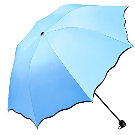 Reinforced Windproof Frame Sturdy Compact and Portable,Unfolding 96cm UV Resistance Waterproof Meiyijia Lightweight Travel Umbrella