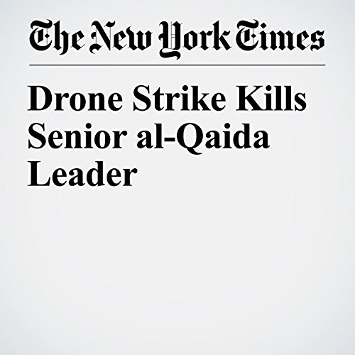 Drone Strike Kills Senior al-Qaida Leader copertina