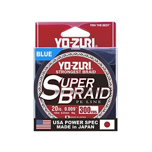 Yo-Zuri YZ SB 20LB BL 300YD Super , Blue
