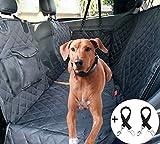 Cadosoigh Funda Perros Coche con Rejilla Flexible Pasar Aire Funda de Asiento para Perros Impermeable y Resistente Protector Coche Antidesliante Universal para SUV, Camión, Transportar y Viaje