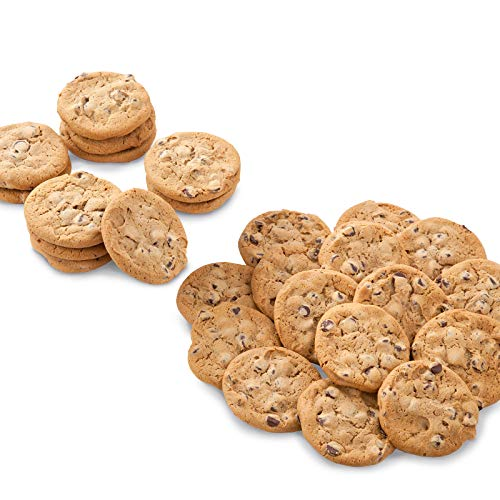 Mrs. Fields Cookies Chocolate Chip Cookies (100 Count) Individually Wrapped - Perfect for any Holiday or Occasion