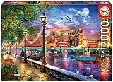 Educa Londres al Atardecer. Puzzle de 2000 Piezas. Ref. 19046, Multicolor