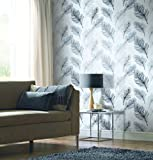 Arthouse Whisper Wallpaper, Black and White