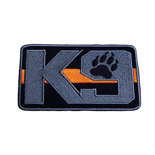 MAREL Patch K-9 - Parche Bordado de Perro con Cinta de Velcro 9 cm Aprox.