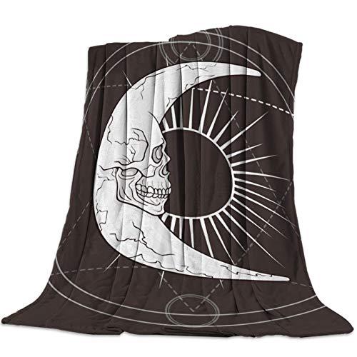 Cllym Magic Array Moon Sun Jeter Couverture Chaude en Microfibre Couverture de Bande dessinée couvertures pour Lits décor à la Maison