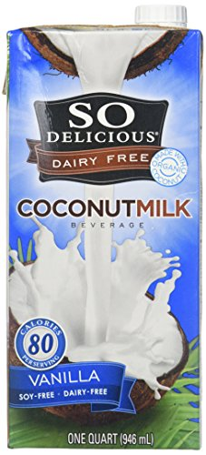 So Delicious All Natural Dairy Free and Soy Free Coconut Milk and Vanilla Yogurt
