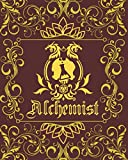 Alchemist Character Journal: DnD Notebook With 50 Character Pages and 100 Mixed Pages (Lined, Graph, Hex & Blank) For Role Playing Fantasy Games | ... Track 5e Gameplay, Plans, Spells & More