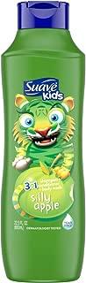 Suave Kids 3 in 1 Shampoo/Conditioner/Body Wash, Splashing Apple Toss, 22.5 Oz (Pack of 3)